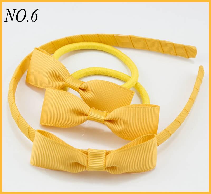 2 5 3 Small Hair Ties Girl Hair Bows With Headbands Baby Hair