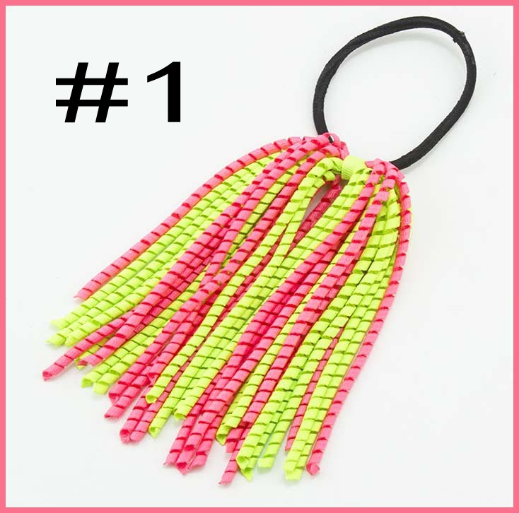 1 8   korker ribbon hair bows ponytail holder streamers  20170318001 ... 6a71a7e6d24