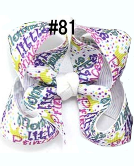 3'' Newest character Boutique hair bows