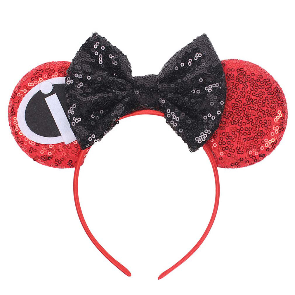 Minnie Mickey Headband Ears Hair Accessories