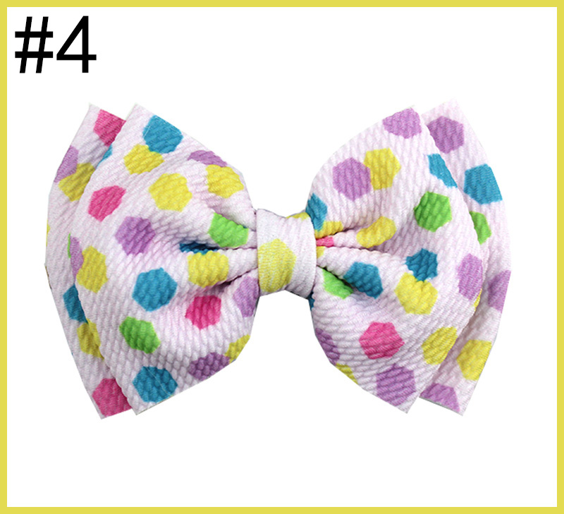 5-6'' UNICORN Fabric Bow summer Liverpool Bow Collection Crepe