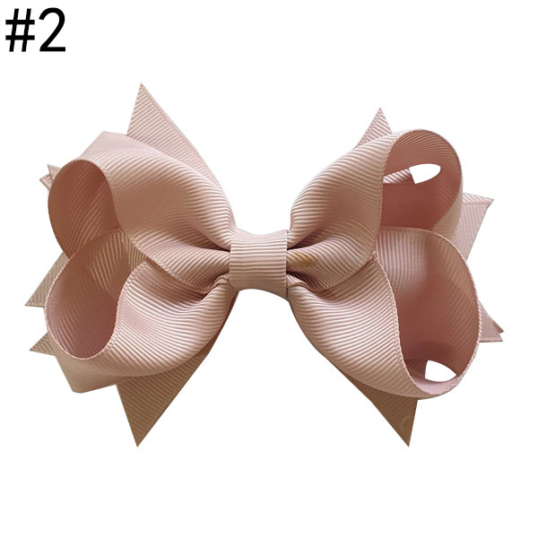 "Boutique Hair Bow 4"" Hair Bows Clip Accessories With Clip"