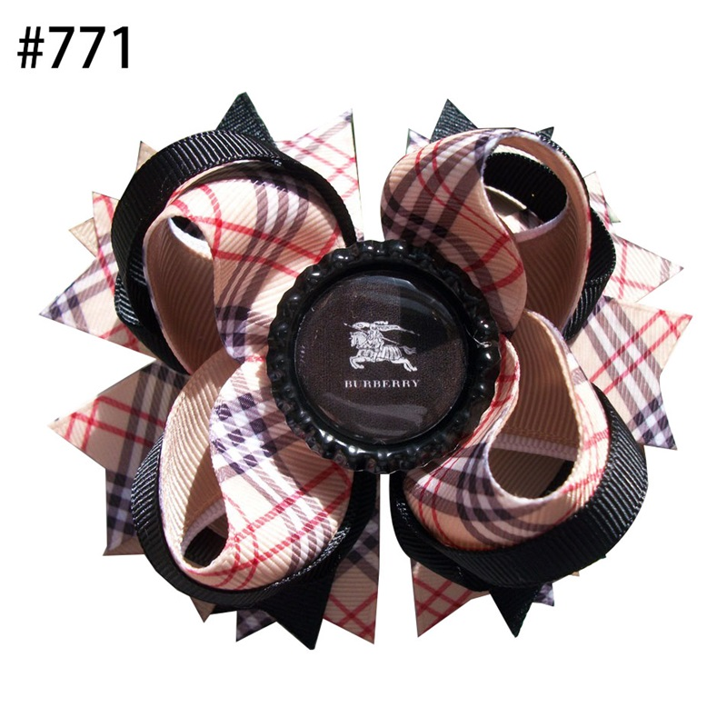 4.5'' inspired hair Bows Accessories With elastic Boutique Bow