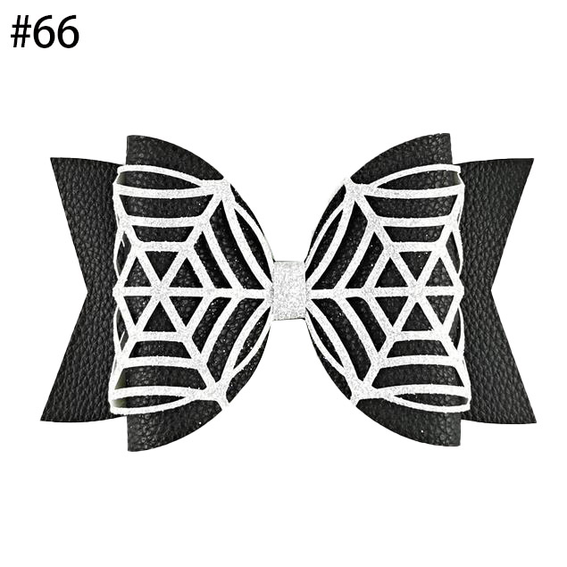 Bat Pinch Bow SVG Halloween Bow hair clip Bat Hair Bow glitter